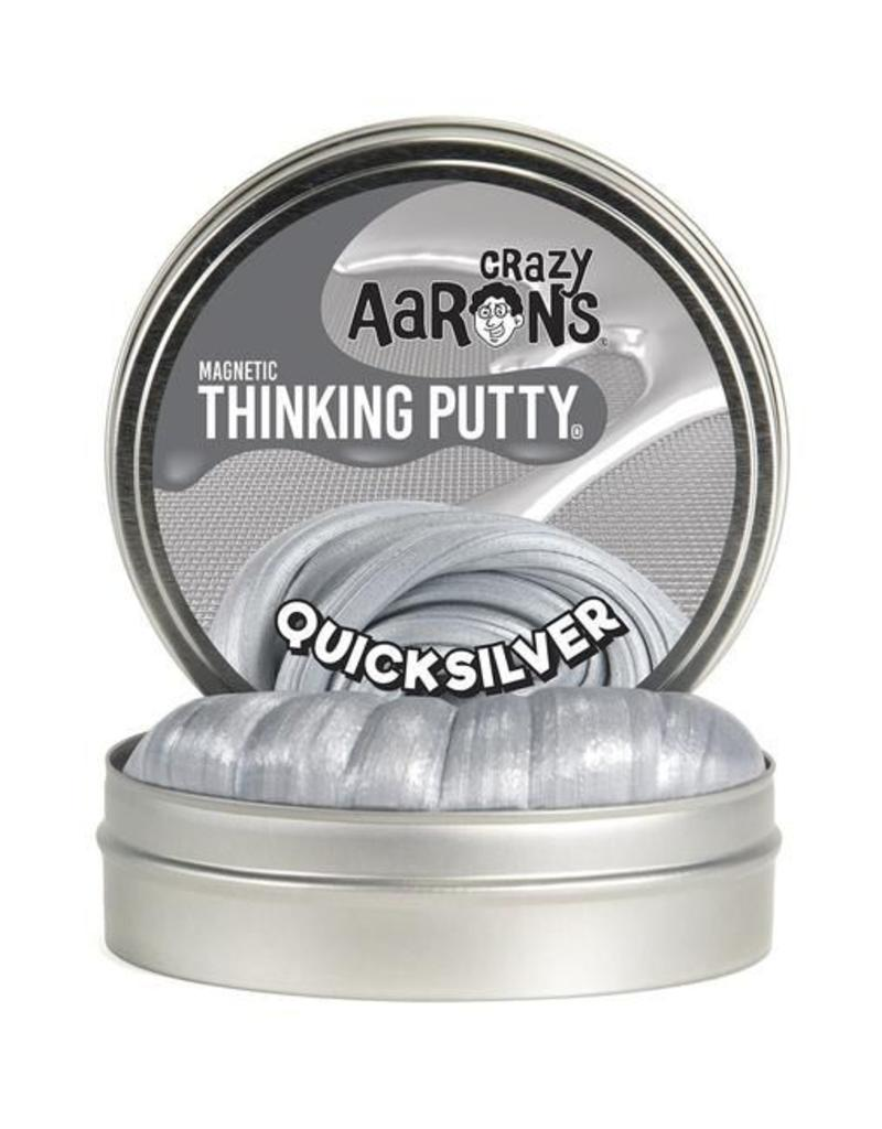 Crazy Aaron's Thinking Putty- Quicksilver Super Magnetic