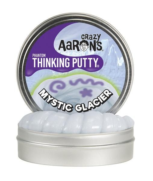 Crazy Aaron's Thinking Putty -Mystic Glacier