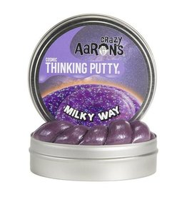 Crazy Aaron's Thinking Putty - Milky Way Cosmic Glow