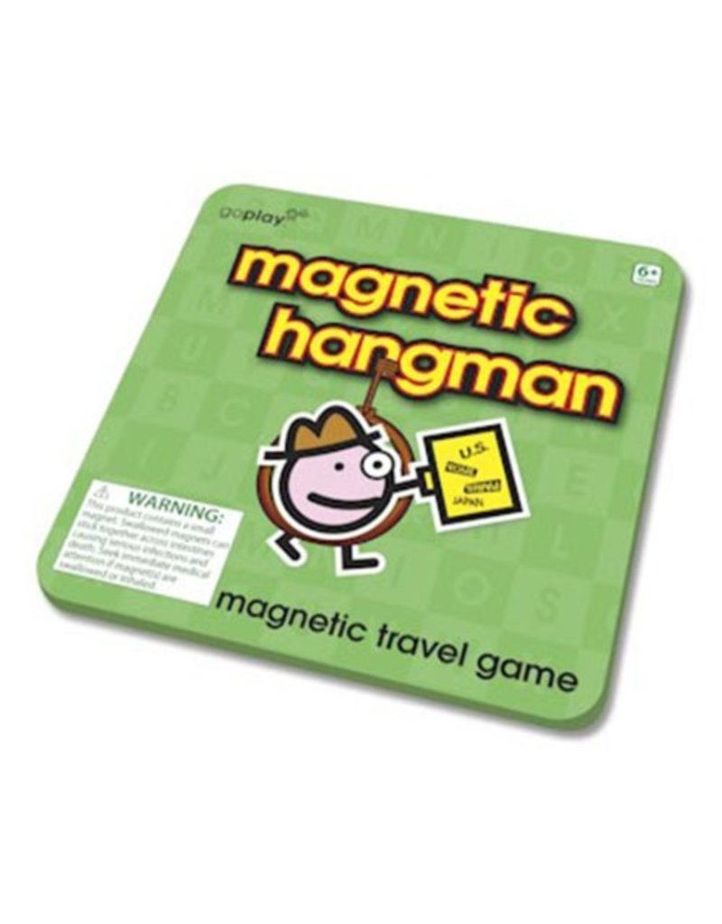Magnetic Hangman Travel Game