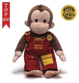 Gund Curious George Teach Me 16""
