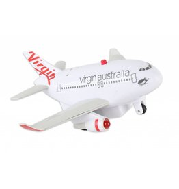 Virgin Australia Pullback With Light & Sound