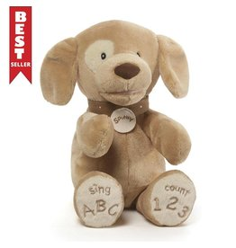 Gund Spunky Dog Animated ABC / 123
