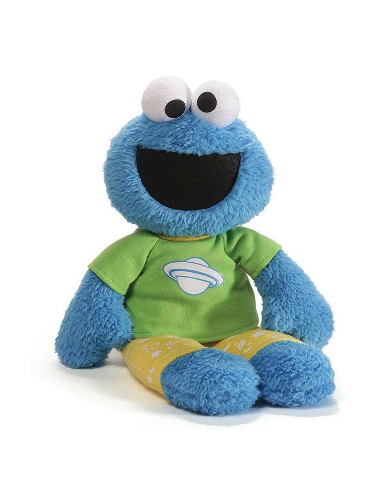 """Gund Cookie Monster 16"""" Pj Pal"""