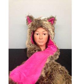 Hat Foxy Hood Pink