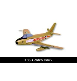 F-86 Golden Hawk Mahogany Model