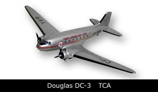 DC-3 Dakota Trans Canada Airlines