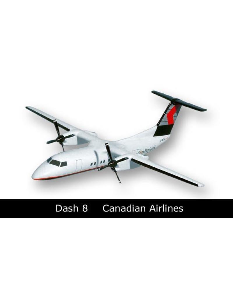 Canadian Regional Dash 8-300 Mahogany