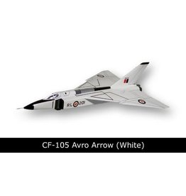 Avro Arrow CF-105 Black/ White Mahogany