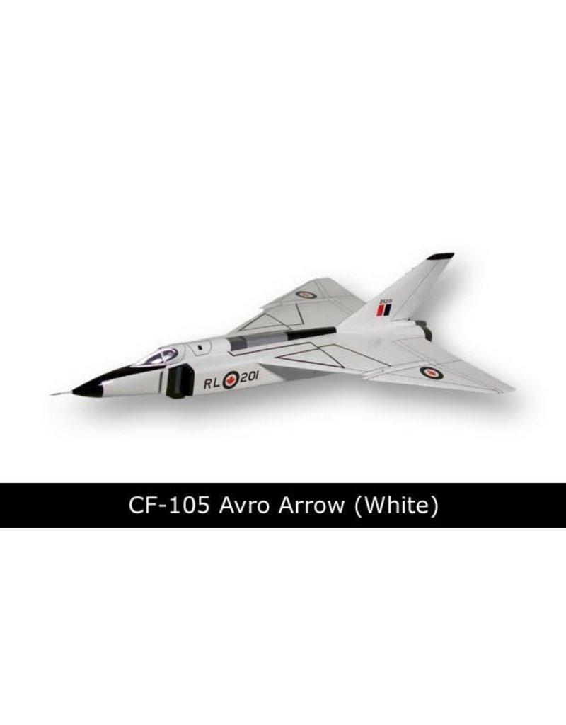 Avro Arrow CF-105 Black/ White Mahogany