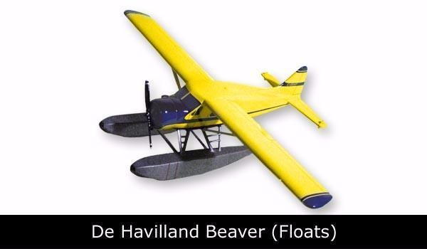 Beaver With Floats Yellow