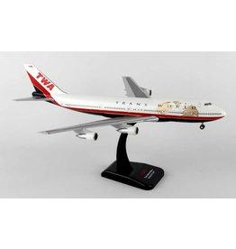 Hogan TWA 747-100 1/200 With Gear