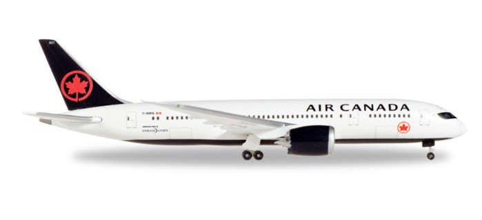 herpa air canada 787-800 1  500 new livery