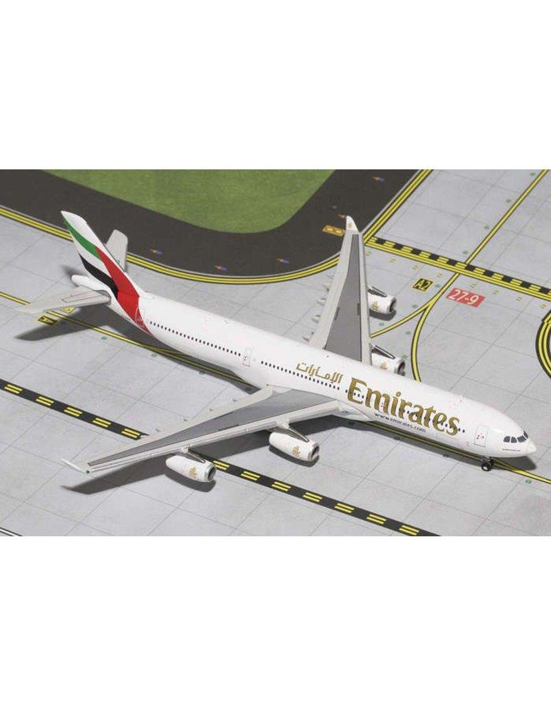 Gemini Emirates A340-300 1/400