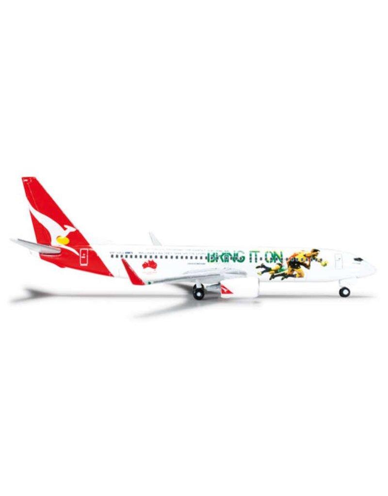 Herpa Qantas 737-800 1/500 2013 Lions Tour