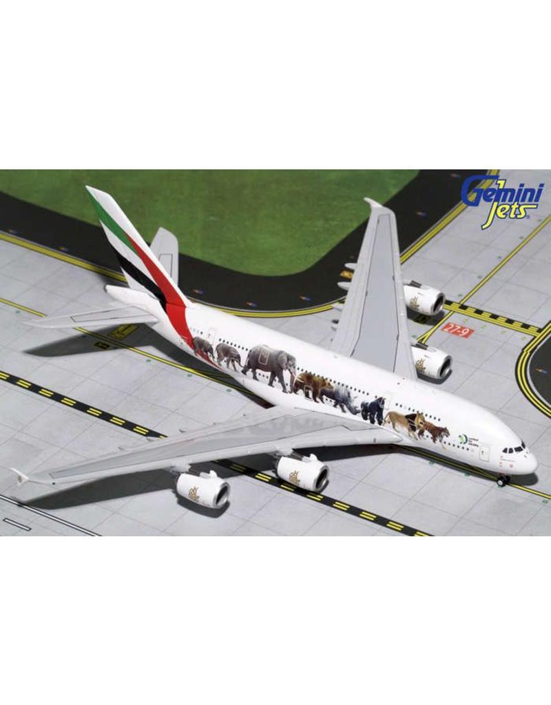 Gemini Emirates A380 1/400 Wildlife