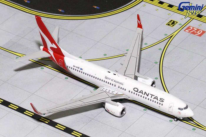 Gemini Qantas 737-800W 1/400 New Livery