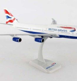 Hogan British  Airways 747-400 1/200 With Gear