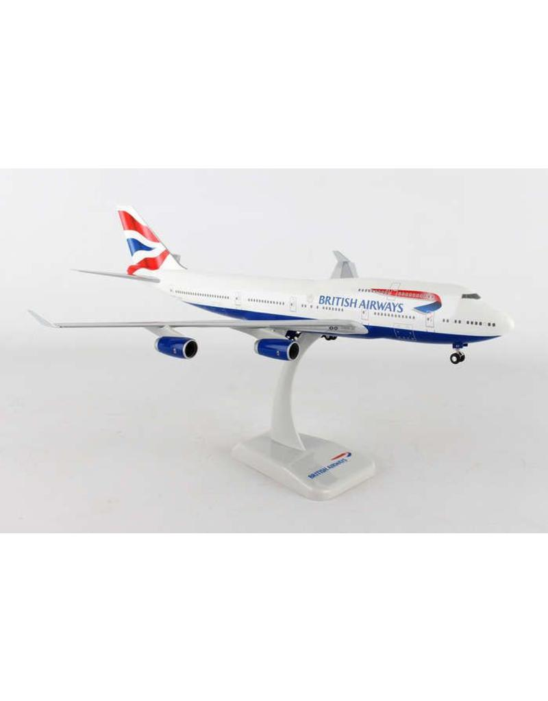 Hogan British  Airways 747-400 1/200 With Gear