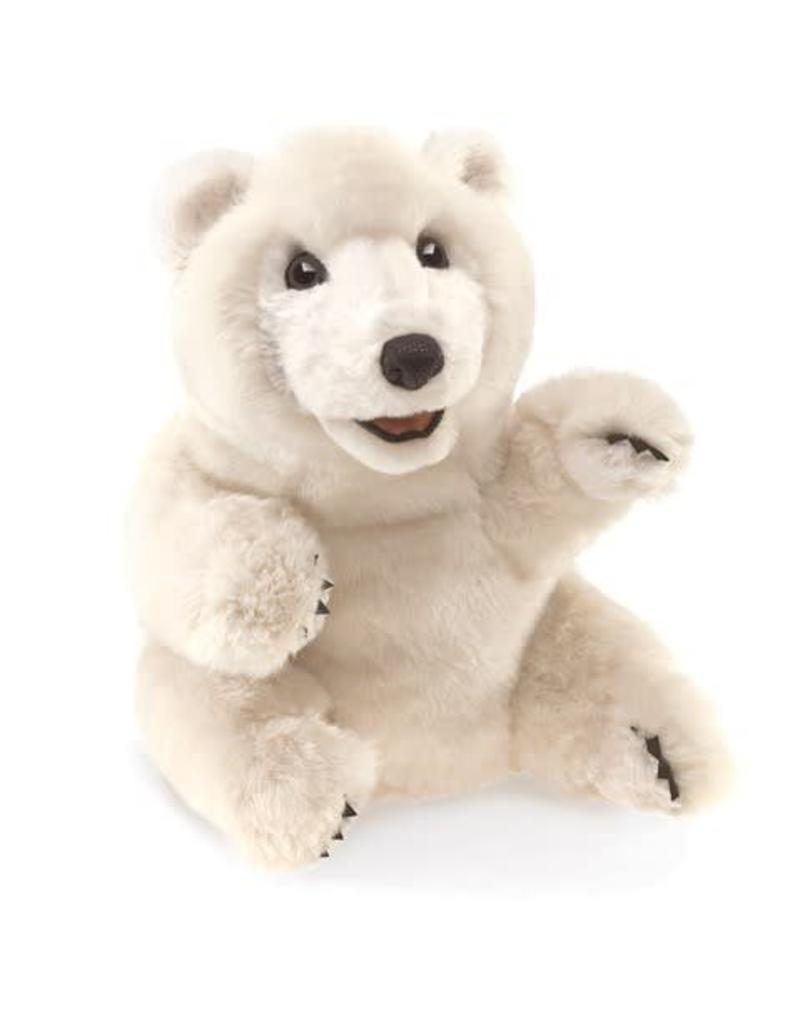 Folkmanis Sitting Bear Puppet