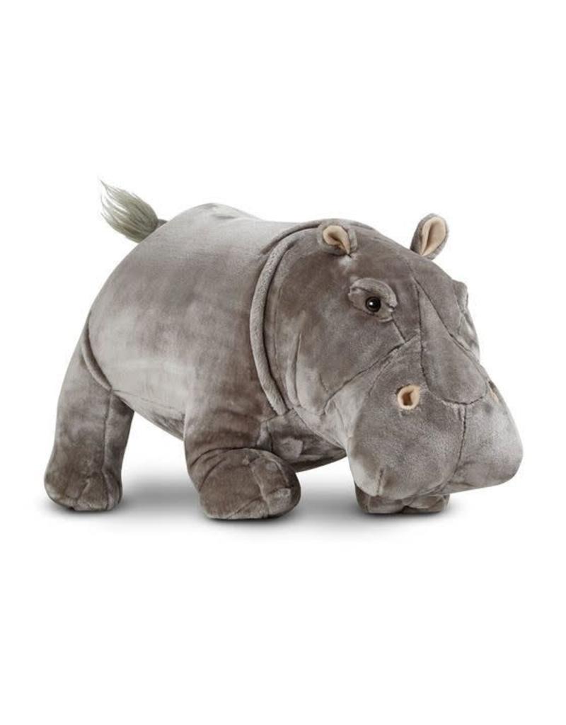 Melissa & Doug Hippopotamus Lifelike Stuffed Animal