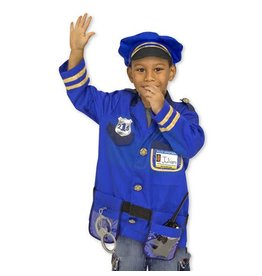 Melissa & Doug Police Officer Role Play Costume Set