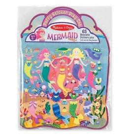 Puffy Stickers Mermaid