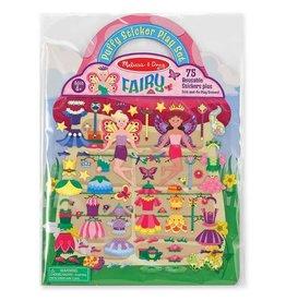 Puffy Stickers Fairies