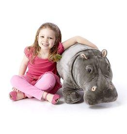 Hippopotamus Life-like Stuffed Animal