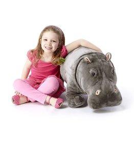 Melissa & Doug  Lifelike Stuffed Hippopotamus