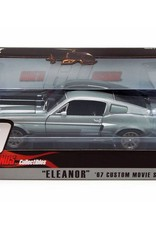 Ford Mustang GT500E 1967 Eleanor 1:18 Grey
