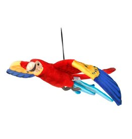 Hansa Flying Scarlet Macaw 30""
