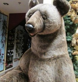 Hansa Grizzly Bear Life Size 76""