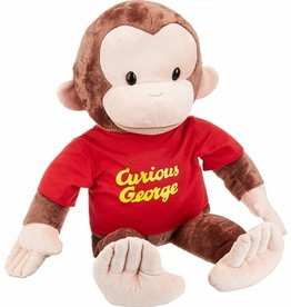 "Gund Curious George  26"" Red Shirt"