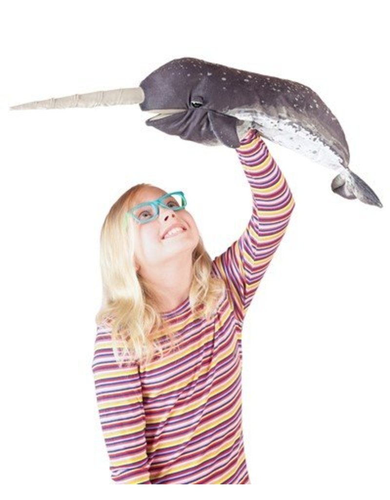 Folkmanis Narwhal Puppet