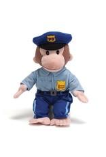 "Gund Curious George Policeman 13"""