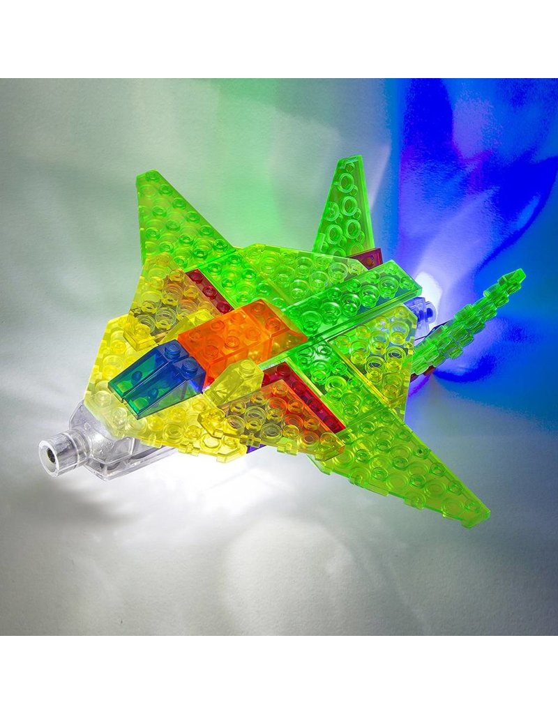 Laser Pegs 6 in 1 Aircraft