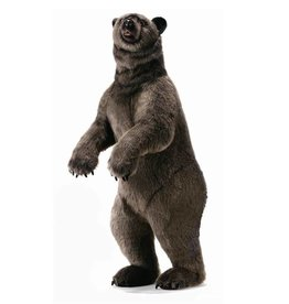 "Hansa Grizzly Bear Life Size 76"""