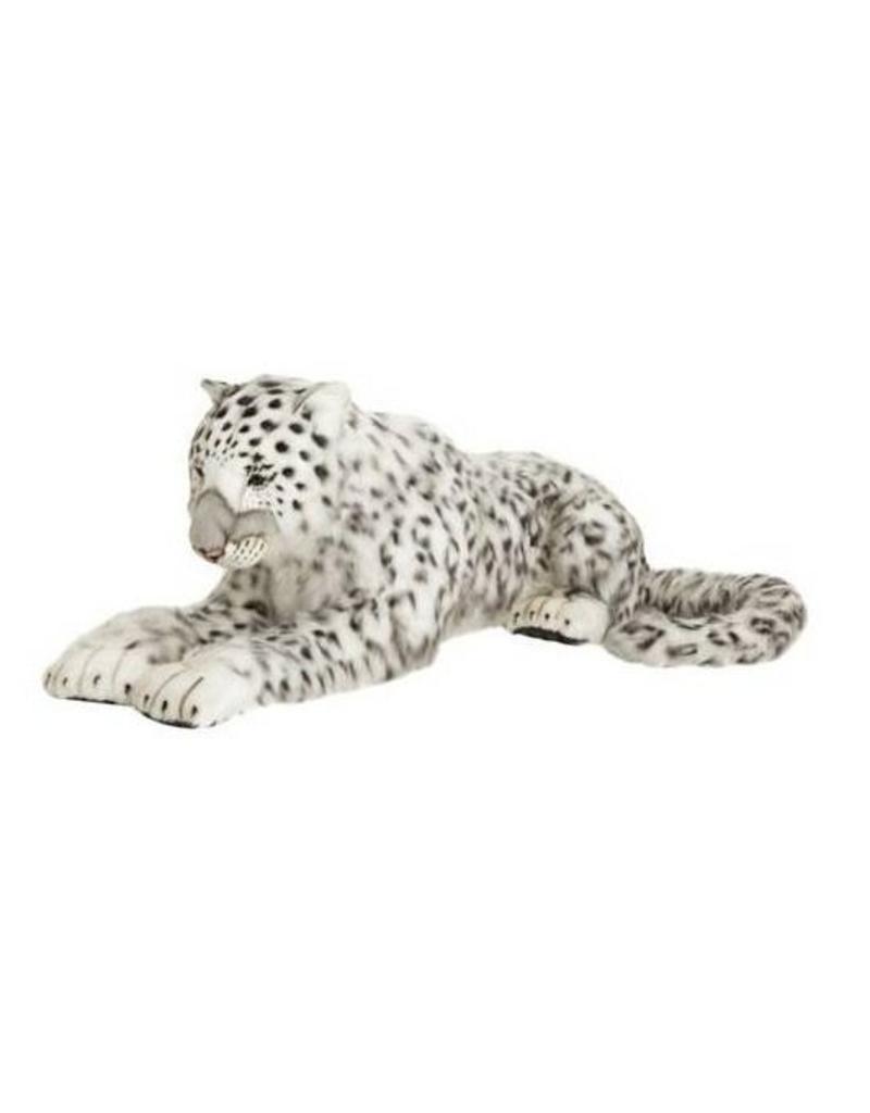 "Hansa Snow Leopard Mama Life Size 49"""