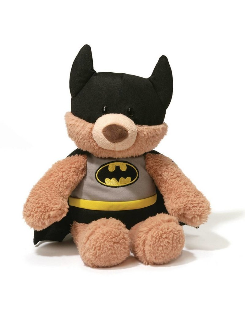 Gund Batman Malone Bear Black