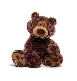 """Gund Philbin Bear Chocolate 18"""""""