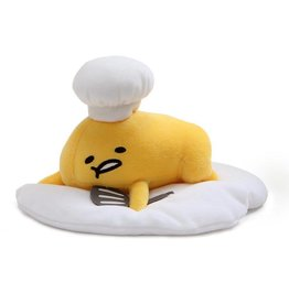 GUND Gudetama with Chef's Hat, 8""