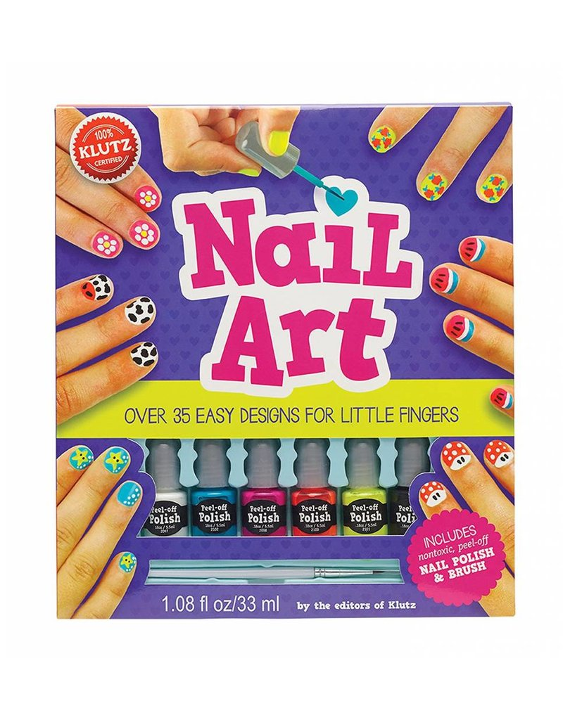 Klutz Nail Art Craft Kit - Who\'s Who in the Zoo