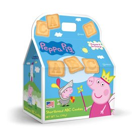 Peppa Pig ABC Shortbread Cookies