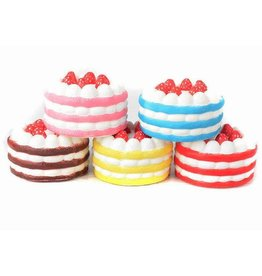 Cake Squishy Assorted Colours