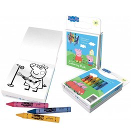 Peppa Pig on The Go Colouring Pack