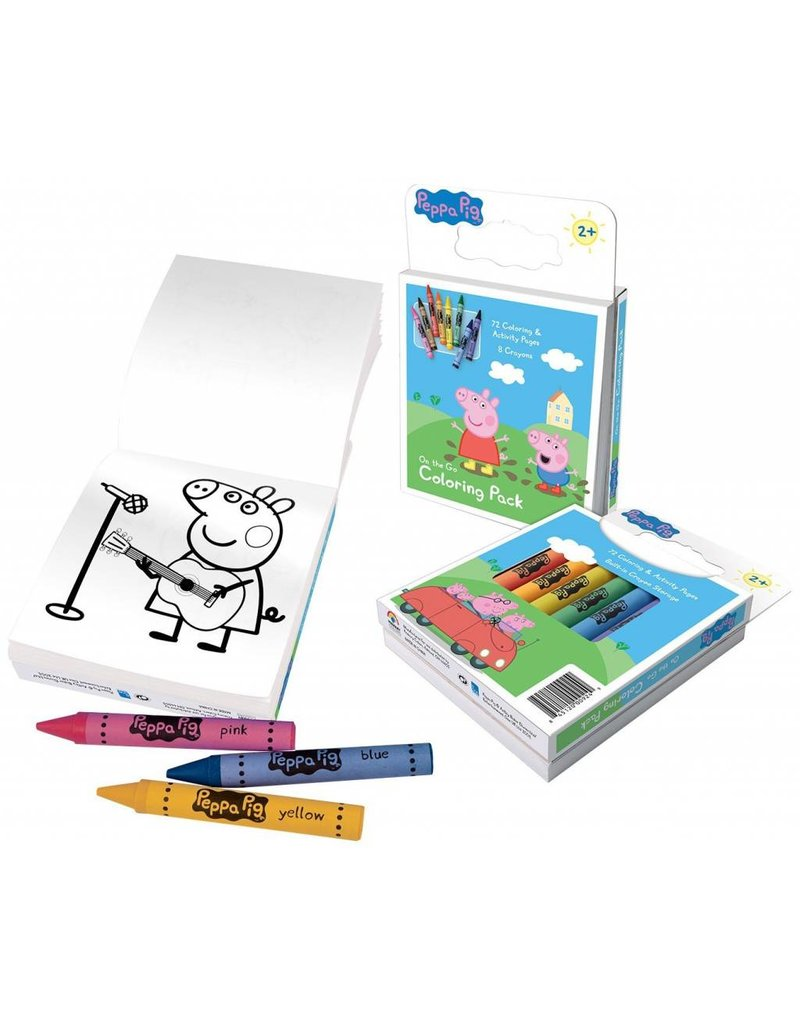 Peppa Pig on The Go Colouring Pack - Who\'s Who in the Zoo