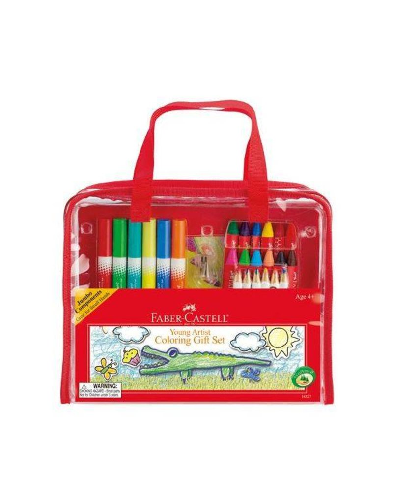 Faber-Castell Young Artist Colouring Gift Set