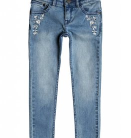 ROXY Roxy Kids Blow Me Away Jean Vintage Wash