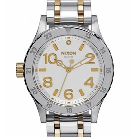 Nixon Nixon 38-20 Silver Gold